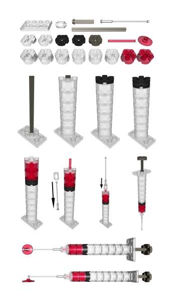 Lego Syringe Instructions.