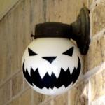 lamp-globe-jack-o-lantern-daytime-off