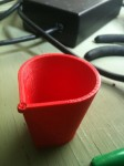 First MakerGear shotglass